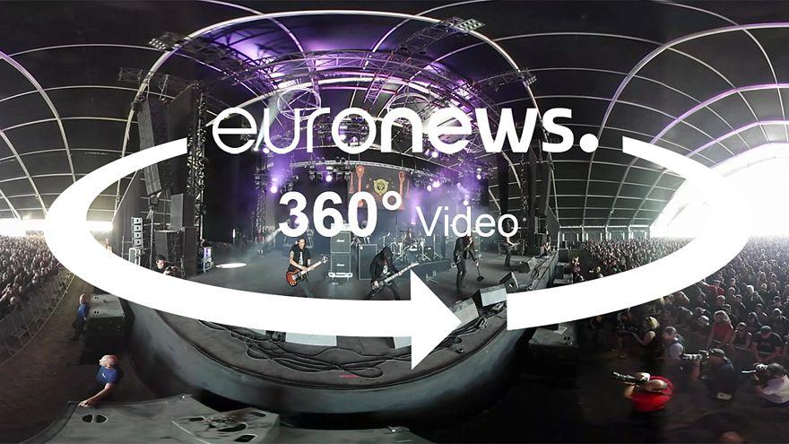 360 kamera ile Hellfest Heavy Metal Festivali'ni yaşayın