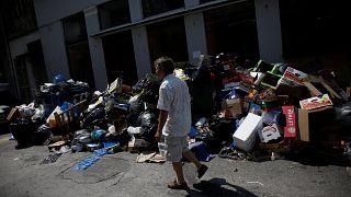 Grecia: emergenza raccolta dei rifiuti