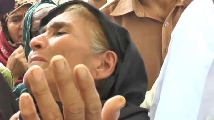 باكستان تشيع ضحايا حريق صهريج الوقود