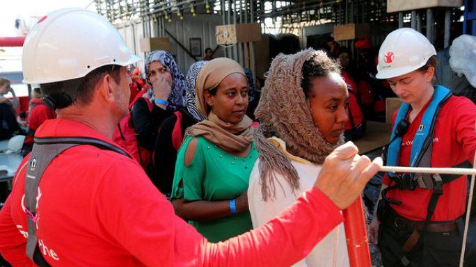 Rescatados más de 3.000 inmigrantes en el Mediterráneo