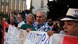 Греческие улицы утопают в мусоре