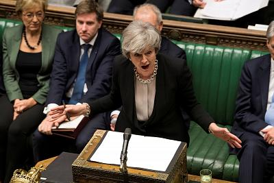 Prime Minister Theresa May has suffered repeated political defeats in Parliament.