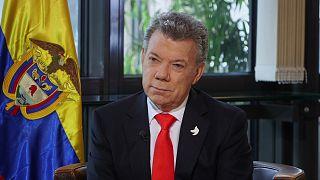 Ο Πρόεδρος της Κολομβίας, Χουάν Μανουέλ Σάντος μιλά στο euronews για την ειρήνη με τη FARC