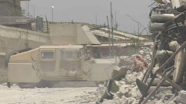 معركة الموصل توشك على نهايتها