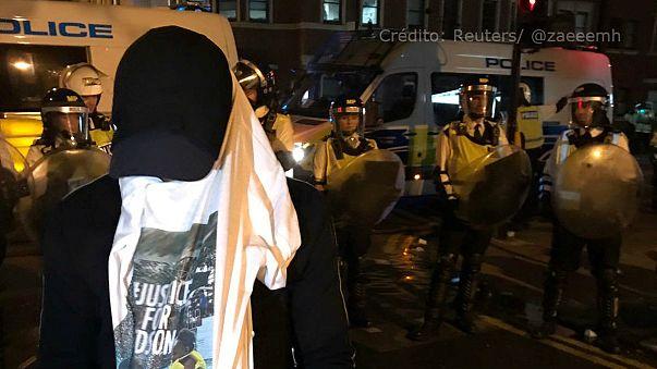 Morte de português em Londres provoca confrontos com a polícia