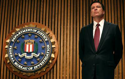 FBI Director James Comey at FBI headquarters on June 23, 2014 in Washington, DC.