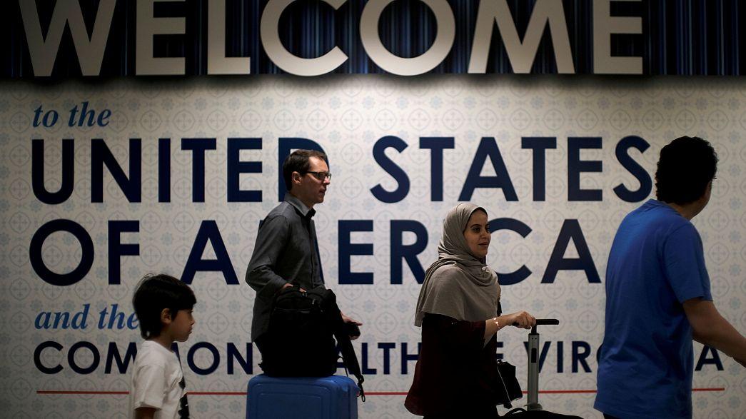 USA: Justiça aprova parcialmente decreto de Trump sobre a imigração