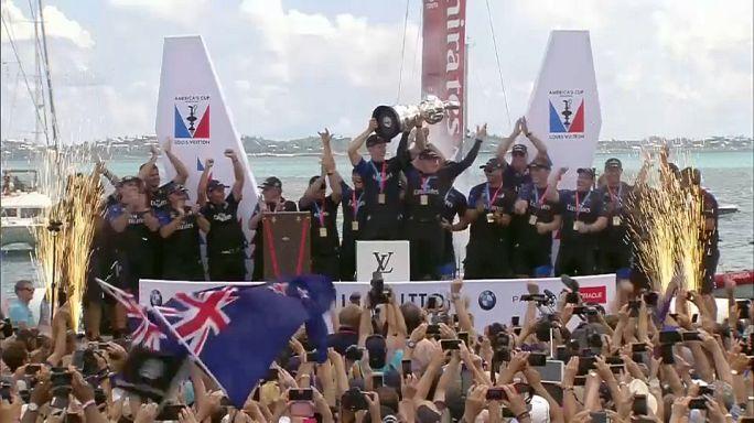 Új-Zéland visszavette az Amerika Kupát