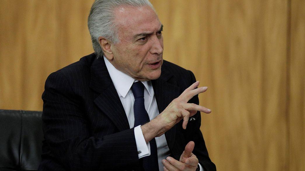 Brésil : Michel Temer de nouveau menacé par la justice