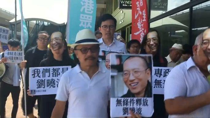 Exigen libertad para que Liu Xiaobo pueda elegir país para su tratamiento