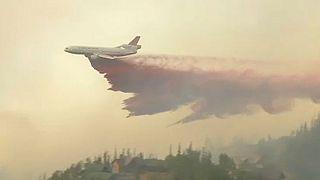 Tűz tombol Utah-ban