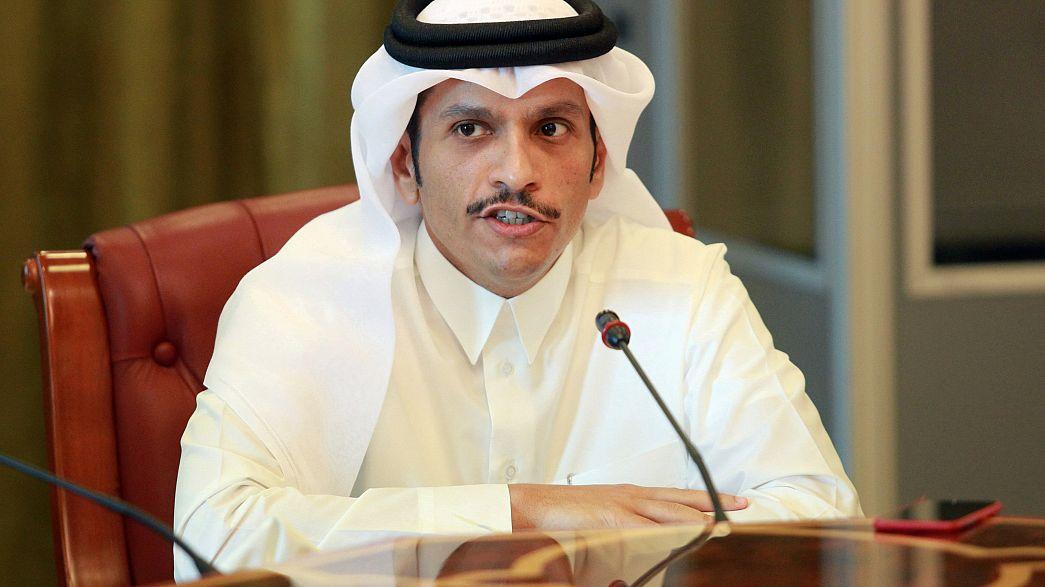 وزير خارجية قطر إلى واشطن لبحث الأزمة الخليجية