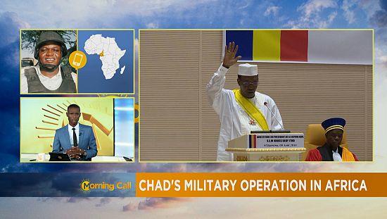 Les opérations tchadiennes en Afrique [The Morning Call]