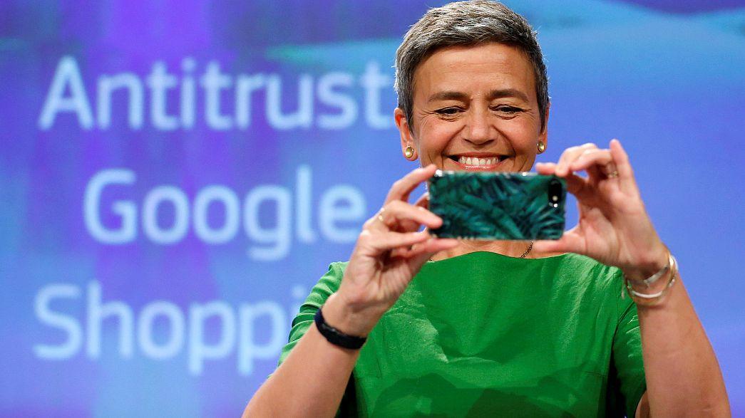 Rekord-Wettbewerbsstrafe von 2,42 Milliarden Euro gegen Google