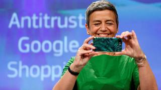 EU fines Google a record €2.42bn