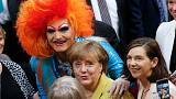 Merkel paves way for gay marriage vote in Germany