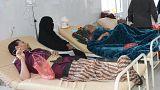 تراجع نسبي لحالات الإصابة بالكوليرا في اليمن
