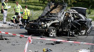'Terrorist act' bomb blast kills colonel in Kyiv