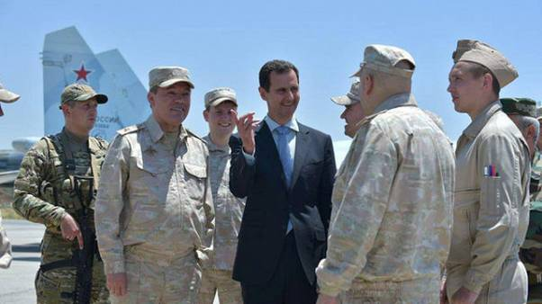 US-Verdacht: Plant Syrien Chemiewaffenangriff?