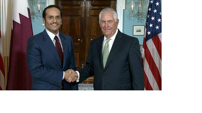 مساع أمريكية لخفض حدة التوتر بين قطر وجيرانها