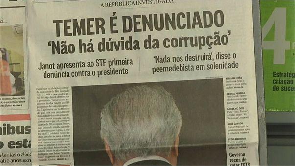 """Michel Temer acusa procurador brasileiro de """"vingança"""""""
