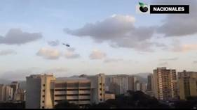 Venezuela: Helicóptero militar rebelde sobrevoa Supremo Tribunal