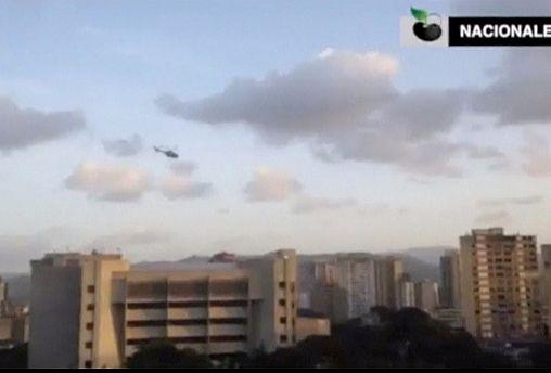 Venezuela: Helicopter attacks Supreme Court