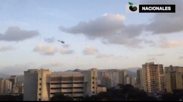 حمله هلی کوپتر پلیس ونزوئلا به دیوان عالی و وزارت کشور
