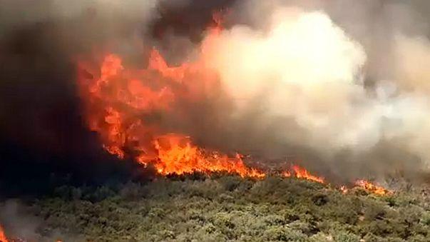 Tüzek Arizonában és Utah-ban