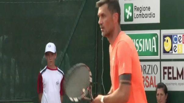Maldini si dà al tennis