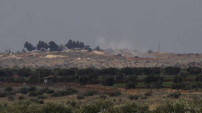Türk ordusu YPG mevzilerini bombaladı