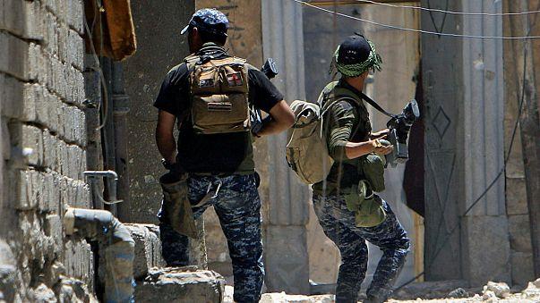Irak ordusunun Musul'da ilerleyişi sürüyor