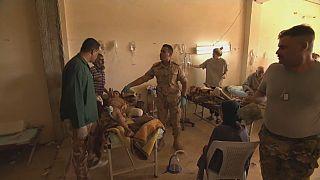 A Mossoul, le difficile accès aux blessés