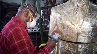 RD Congo : à la découverte de l'artiste plasticien Alfred Liyolo