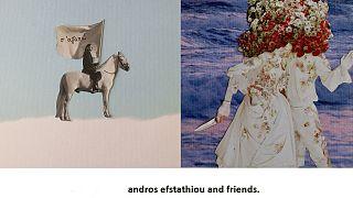 Andros Efstathiou and friends: Φωτογραφίες, φαγητό, μουσική και...πετσέτες θαλάσσης;