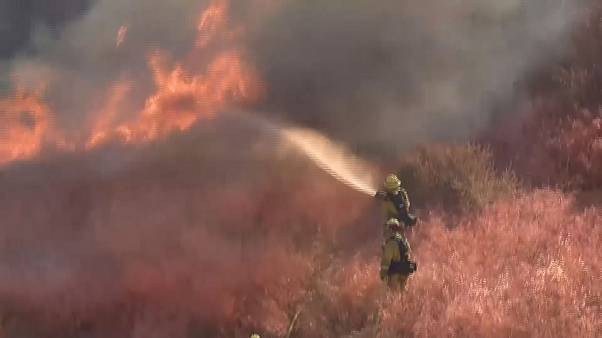 Florida wildfire cuts interstate highway