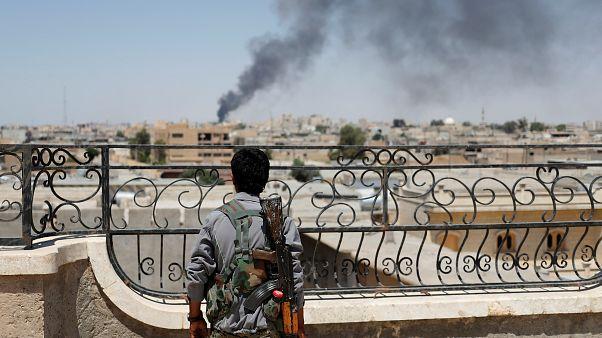 حمله توپخانه ای ترکیه به مواضع شبه نظامیان کرد در شمال سوریه