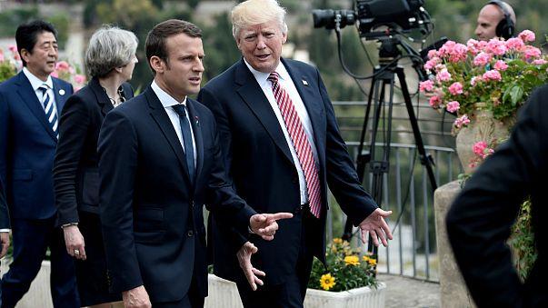 Trump Paris'e gidiyor