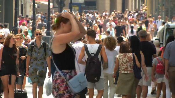 """A """"incómoda"""" indústria do turismo em Barcelona"""