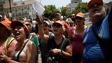 Απαγόρευση διαδηλώσεων στην Αθήνα