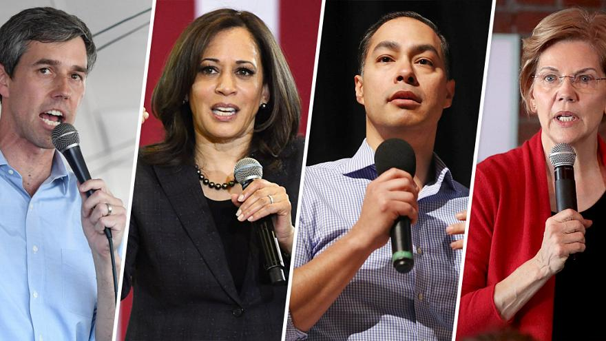 Top 2020 Democrats booked for Las Vegas labor forum in April