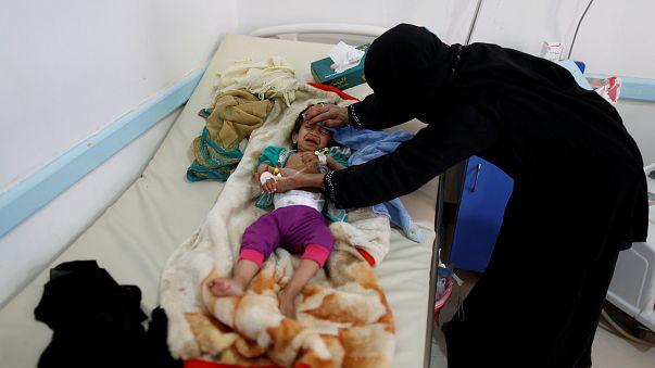 Yemen'de kolera salgını sürüyor