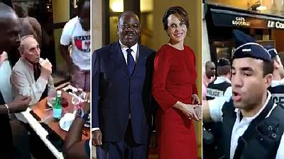 Ali Bongo's father-in-law attacked at Paris cafe by Gabonese men