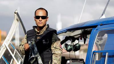 Venezuela: Attack helicopter found