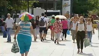 Афины: жарко, ещё жарче