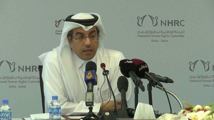 حقوق الإنسان القطرية تشكو من التداعيات الإنسانية للحصار