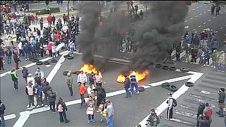 Argentinien: Gewaltsame Proteste gegen Sparpolitik