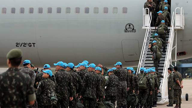 Who are the Blue Helmets?