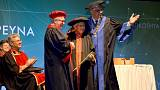 97-year-old graduates in Cyprus