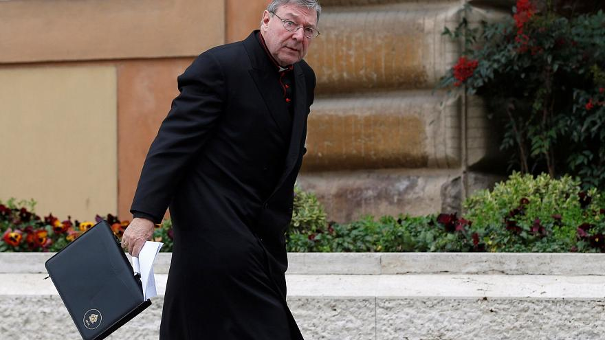 Cardinal George Pell denies sex offences